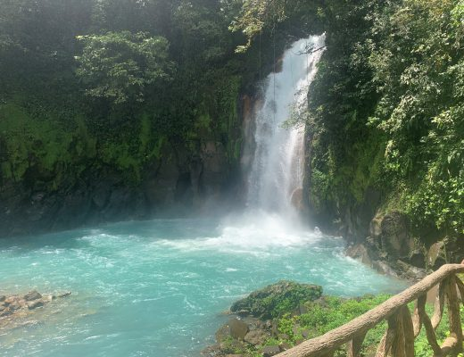 Celeste River Waterfall